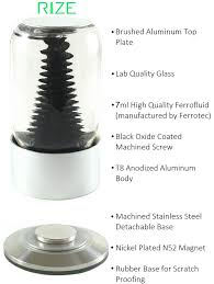 rize spinning ferrofluid display by matt robison kickstarter