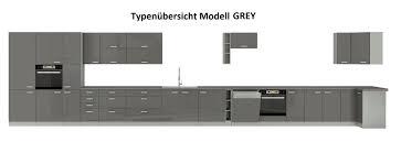 küche ecke iv 210x330 küchenzeile hochglanz grau weiss küchenblock grey