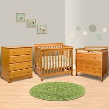 da vinci 3 piece nursery set kalani mini crib 3 drawer changing