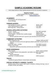 Resume Builder For Highschool Students Elegant Examples State Government Lovely 23 Luxury Usajobs