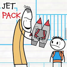 Looks Like Sketchy Dude Gave Ned A Jet Pack Hope He Doesn