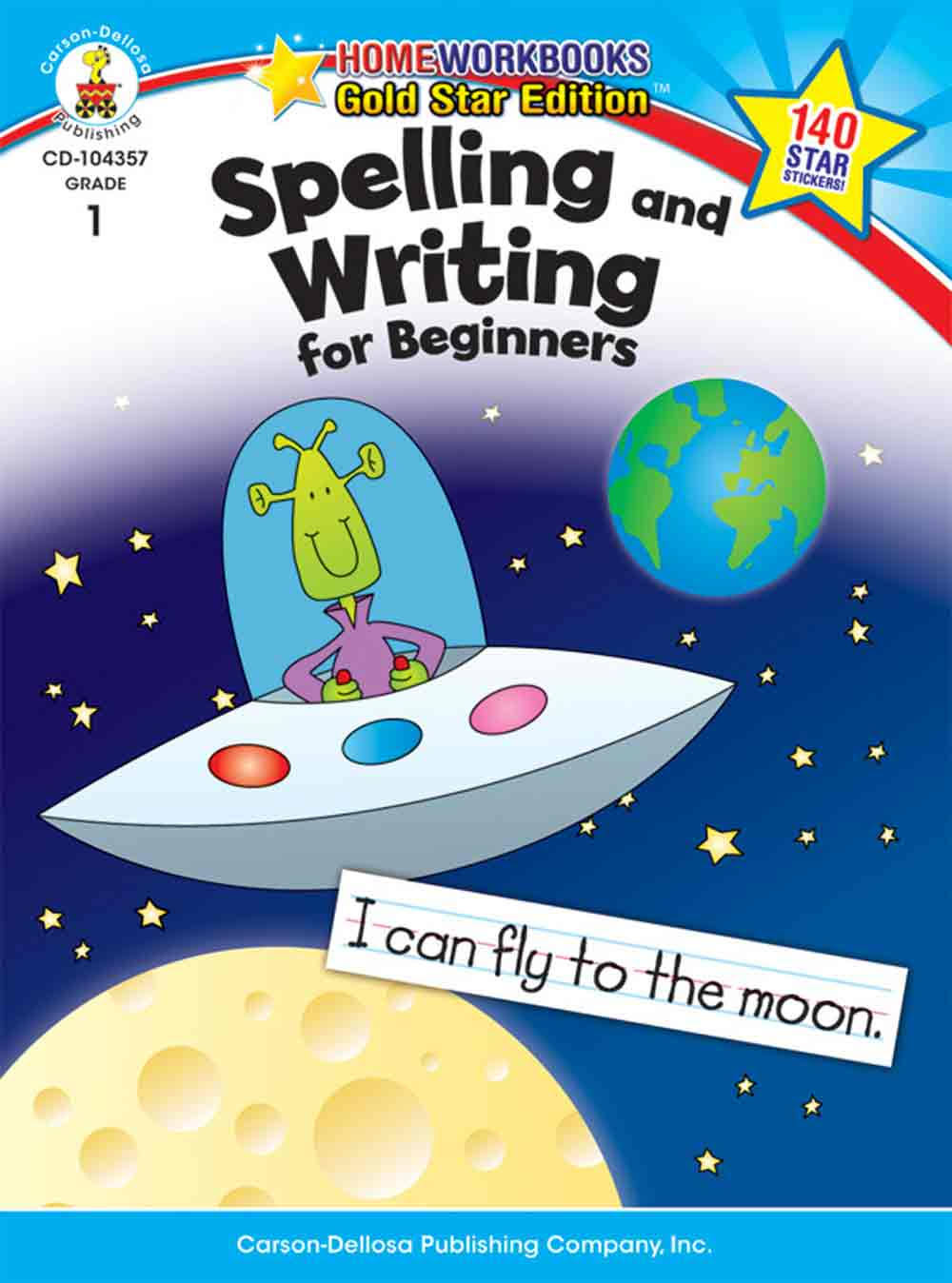 Spelling and Writing for Beginners, Grade 1 - Carson-Dellosa Publishing