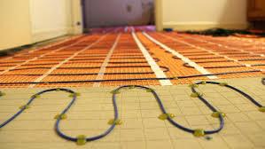 how to heat tile floor water radiant floor heating radiant heat