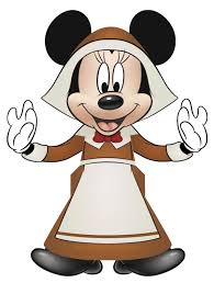 Thanksgiving Cartoon Characters Micky Mouse Printable