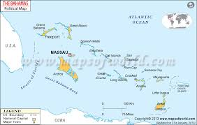 Political Map Of The Bahamas