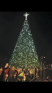 Annual Christmas Tree Lighting At The McAllen Convention Center
