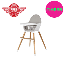 Best Selling Baby High Chair Feeding Timber Wood Legs Toddler Free ...