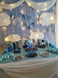 decoration baby shower boy heaven sent baby shower mondeliceblog heaven sent baby