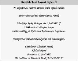 Swedish Text Layout 2