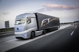 Meet Mercedes-Benz's Futuristic Autonomous Truck Concept: Video