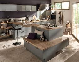 cuisine am駻icaine avec ilot central plan cuisine americaine excellent modele cuisine americaine avec