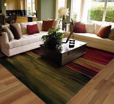 Wonderful Living Room With Area Rugs Nice Color bination Inside