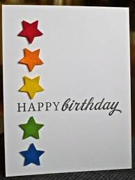 Simple Creative Cards Pinterest Happy Birthday Card Ideas