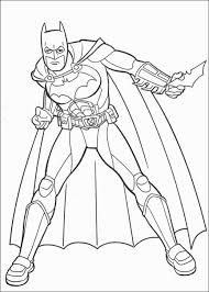 Coloring Pages Printable Batman Superhero