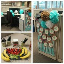 birthday cubicle decoration ideas home pinterest cubicle