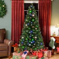 Product Image Best Choice Products 7ft Pre Lit Fiber Optic Artificial Christmas Pine Tree W 280