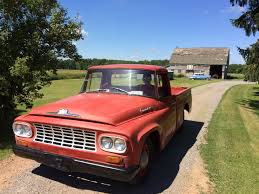 1962 International C100. Has A V-8 266 Cubic Inch Engine With 3 On ... 1967 Intertional Pickup Truck No Reserve Classic 1953 Pickup 1952 The Journey From Embarrassment To 1946 Lenz Trucks Accsories 1962 Automobiles Trains And Around 1975 This Has Bee Flickr 1954 Harvester R Series Wikipedia L120 Youtube Junkyard Find 1971 1200d Truth 15 Of The Coolest Weirdest Vintage Resto Mods From 1937 Pick Up 12 Ton Runs