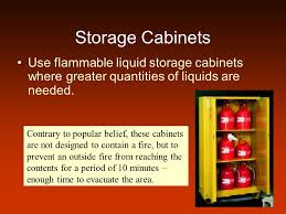 Flammable Liquid Storage Cabinet Canada by Flammable And Combustible Liquids Ppt Video Online Download