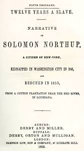 Use Decorous In A Simple Sentence by Solomon Northup Twelve Years A Slave Narrative Ofsolomon Northup