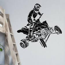 details zu fahrrad wand aufkleber dirt motorrad jungen schlafzimmer dekor mb22