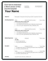 Part Time Resume Sample For Job Easy Examples