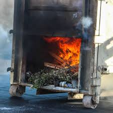 Trash Container Fire Forces Evacuation of Goleta Home Depot