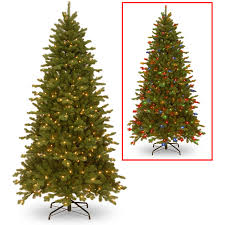 5ft Christmas Tree With Led Lights by National Tree 7 5 U0027
