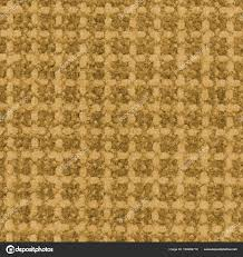 Yellow Synthetic Carpet Texture As Background Stock Photo