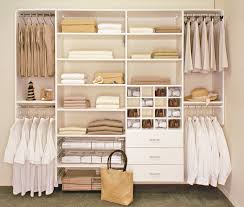 furniture white wooden closet with drawers and racks also