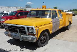 1979 Ford F350 Crew Cab Utility Bed Pickup Truck | Item DV93... 1977 Ford F150 Standard Cab Long Bed 2wd Custom 400m Auto F100 F250 1979 C600 Salvage Truck For Sale Hudson Co 140801 Flatbed Pickup Truck Item Da8186 Sold Ma 2016 Detroit Autorama Lt9000 Dump Seely Lake Mt 236784 For Trucks Accsories And Flashback F10039s New Arrivals Of Whole Trucksparts Or 4x4 Regular Sale Near Lynnville Tennessee Shortbed Completed Youtube F650 Wikipedia Ford Lariat Highboy 4x4 91k Miles 1 Prev Owner C6 Ford 44 Short Awesome Enthusiasts