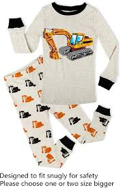 100 Fire Truck Pajamas Amazoncom PHOEBE CAT Boys Toddler Sleepwear Clothes
