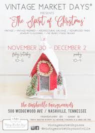 100 Food Trucks Nashville Tn Vintage Market Days Of The Spirit Of Christmas