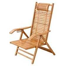 Amazon.com : Garden Lounger Wood, Folding Sunlounger Wooden ...