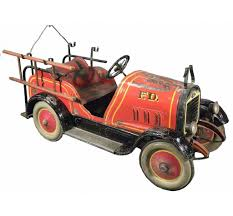 Детские педальные автомобили начала XX века | Hose Reel, Pedal Car ... Antique Hook And Ladder Fire Truck Pedal Car 275 Antiques For Price Guide American Fire Truck Pedal Car Second Half20th Restoration C N Reproductions Inc Instep Riding Toy Hayneedle Childs Red Toy Pedal Car Based On An American Fire Truck Amazoncom Instep Toys Games 60sera Blue Moon Gearbox Vintage Firetruck Cars Pinterest Cars Withrows Body Shop Rare Large Structo Jeep Red Firetruck With Airbags Stuff