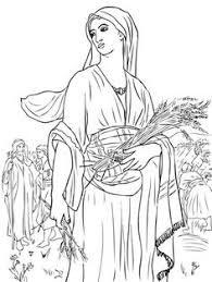 Find This Pin And More On Ruth Naomi In The Fields Coloring Page