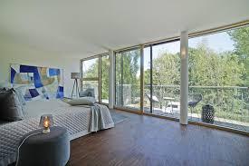 penthouse schlafzimmer mit viel ausblick penthous