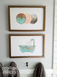 DIY Copper Modern Chic Wall Art Made From Upcycled Bed Rails By Prodigal Pieces