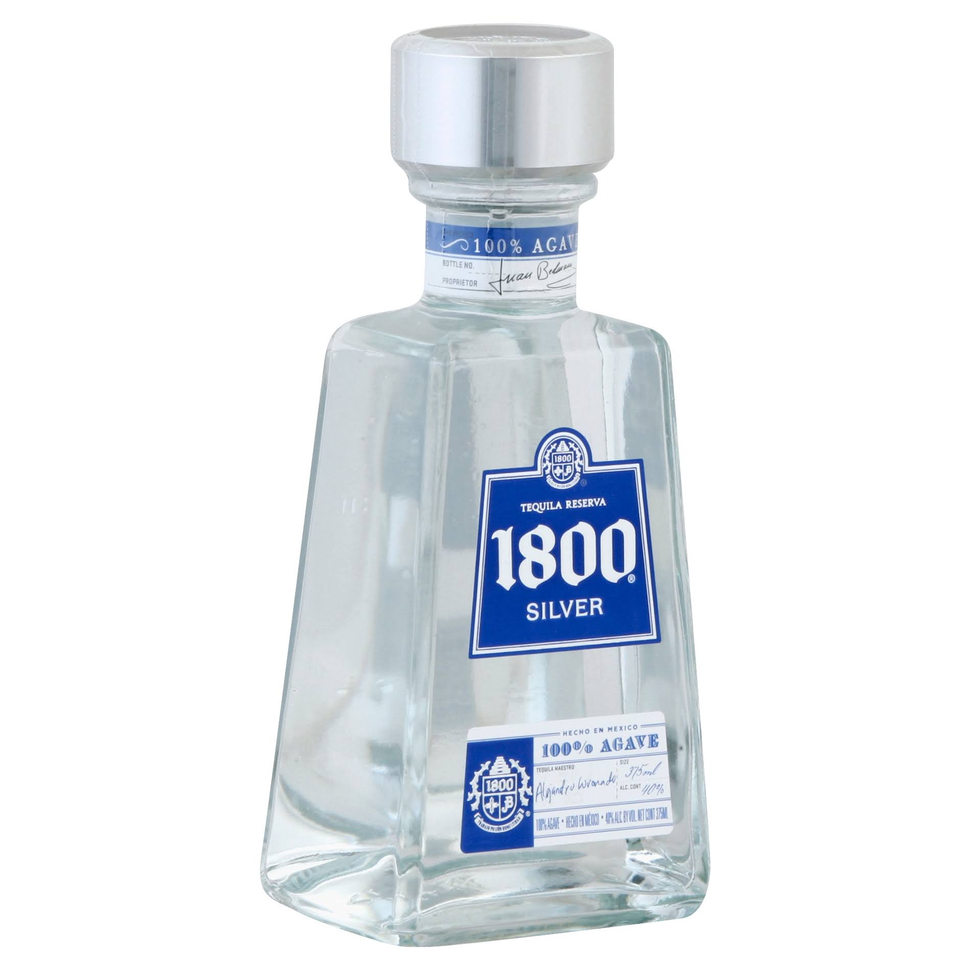 1800 Silver Tequila - 375ml
