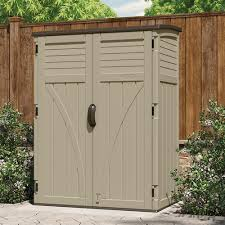 Suncast Garden Shed Taupe by 13 Suncast Garden Shed Taupe 20 Cu Ft Vertical Shed Suncast