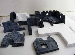 3d Printed Dungeon Tiles by How To Make 3d Dungeon Tiles