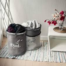 set wäschekorb wäsche sack wäschekorb wäschesammler