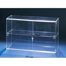 Marvelous Acrylic Countertop Display Case Lucite