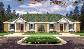 100 Beautiful Duplex Houses 3 Bedroom In Many Sizes 51114MM Architectural