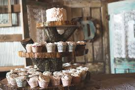 Unique Cupcake Stands For Weddings With Laurens Father Also Made This Darling Wood