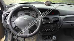 renault si e social obd2 connector location in renault megane 1 1999 2002 outils obd