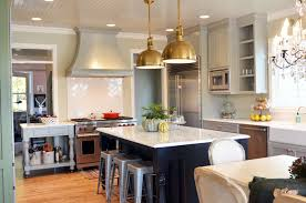 kensington bliss large brass industrial pendants for the kitchen