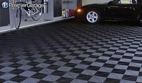 the garage flooring