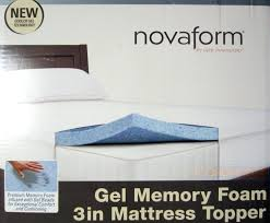 Costco Mattress Topper Costco Novaform Gel Mattress Topper Costco