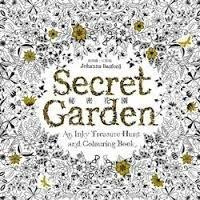 Secret Garden Enchanted Forest Coloring Book Johanna Basford Anti Stress With Nature Colored Pencils Korean