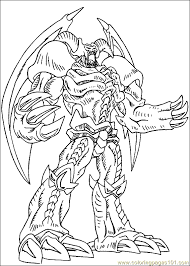 Yu Gi Oh Coloring Page 08